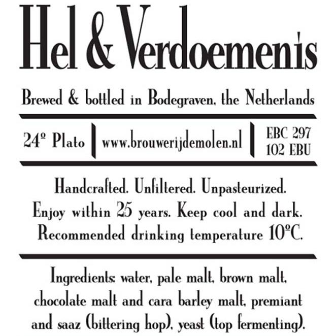 Hel & Verdoemnis    (De Molen)