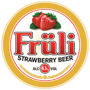 Früli Strawberry Beer (Brauerei Huyghe)
