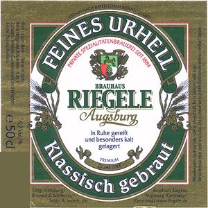 Feines Urhell (Brauhaus Riegele)