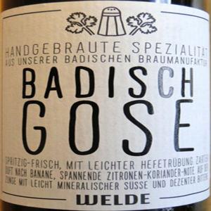 Badisch Gose (Weldebräu)