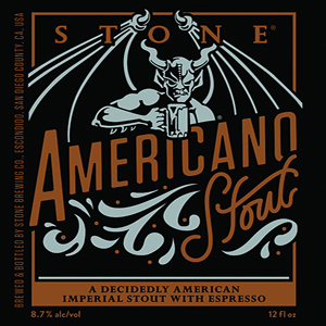 Americano Stout (Stone Brewing Co.)