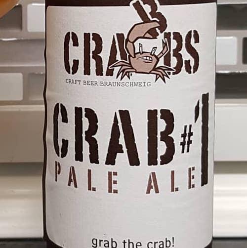 Crab#1 Pale Ale (Crabbs)