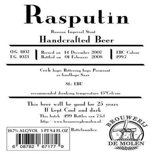 Rasputin (De Molen)