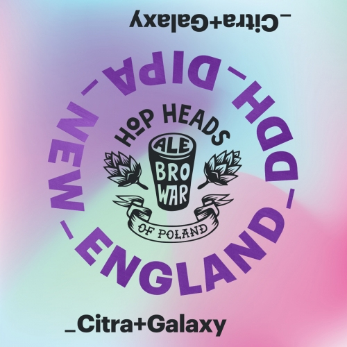 New England DIPA Citra + Galaxy (AleBrowar)