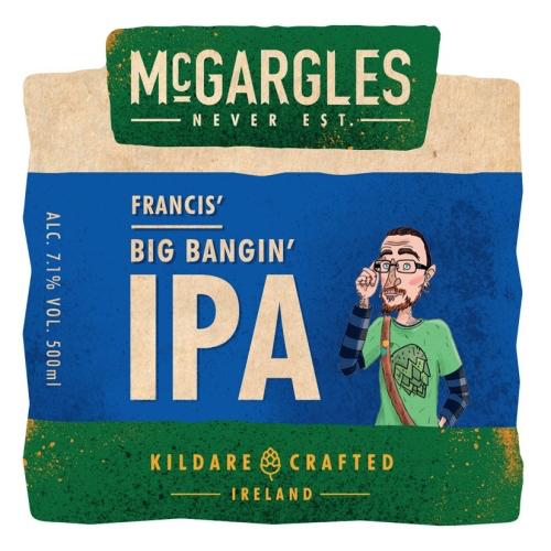 McGargles Francis´ Big Bangin´ IPA (Rye River Brewing Co.)