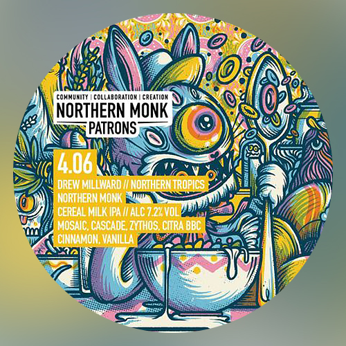 Patrons Project 4.06 Cereal Milk IPA (Northern Monk)