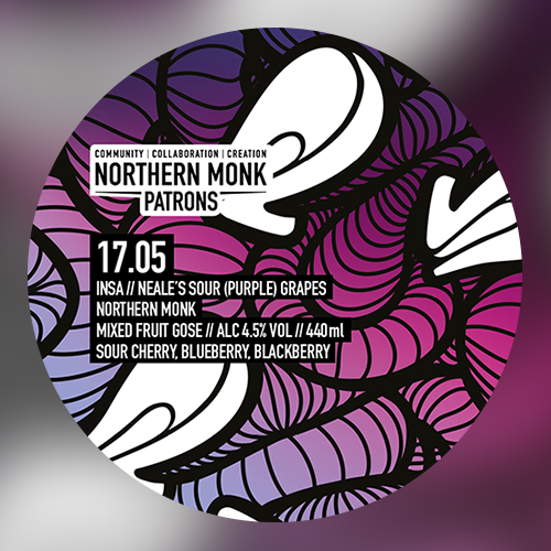 Patrons Project 17.05 // Insa // Neale's Sour (Purple) Grapes (Northern Monk)