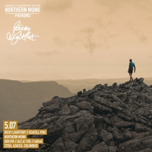 Patrons Project 5.07 Ricky Lightfoot // Scafell Pike (Northern Monk)