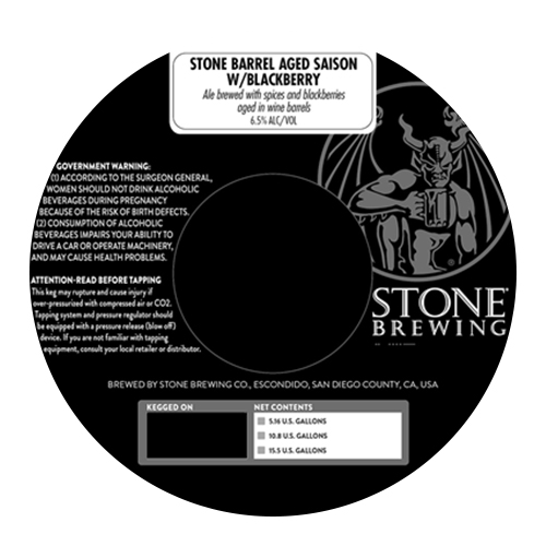 Foudre Aged Imperial Saison (Stone Brewing Co.)