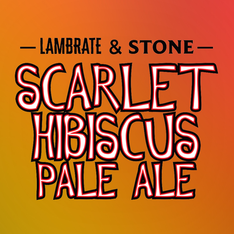 Scarlet Hibiscus Pale Ale (Stone Brewing x Lambrate/ Italien)