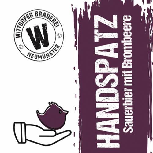 Handspatz Brombeere (Wittorfer Brauerei )