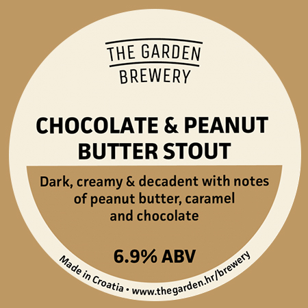 Chocolate & Peanut Butter Stout (The Garden  Brewery)