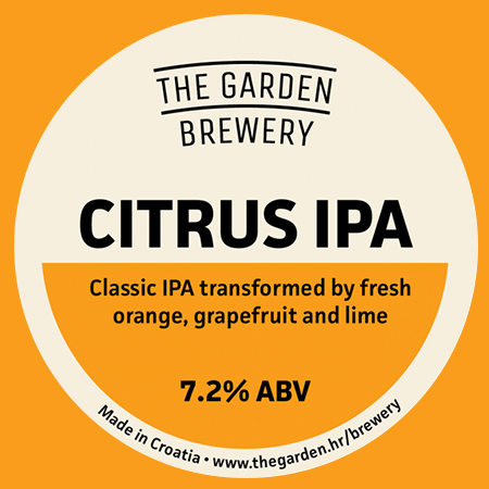 Citrus IPA (The Garden Brewery)