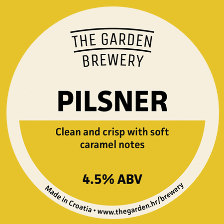 Pilsener (The Garden Brewery)
