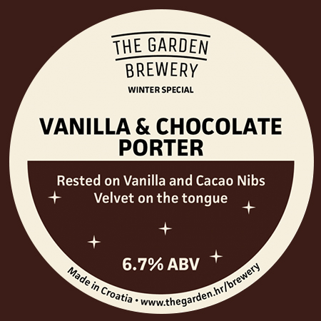 Vanilla & Chocolate Porter (The Garden Brewery)