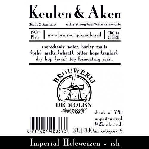 Keulen & Aken (Woodford Reserve BA) (De Molen)
